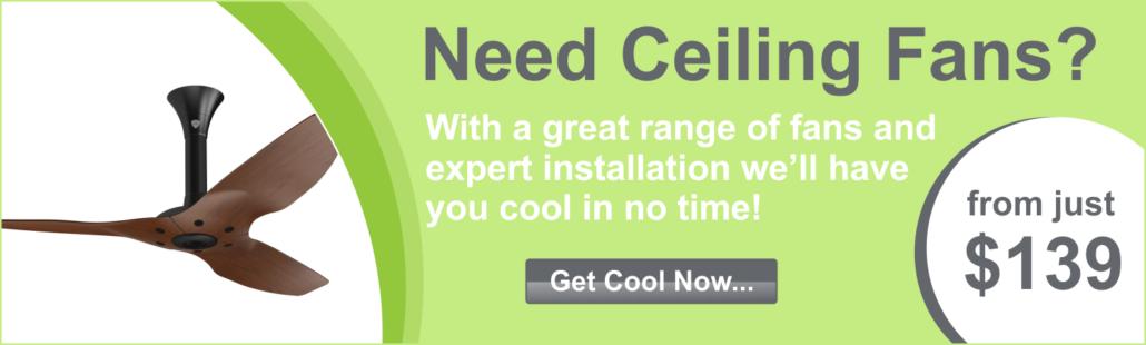 Ceiling Fans Brisbane Installation Electrician