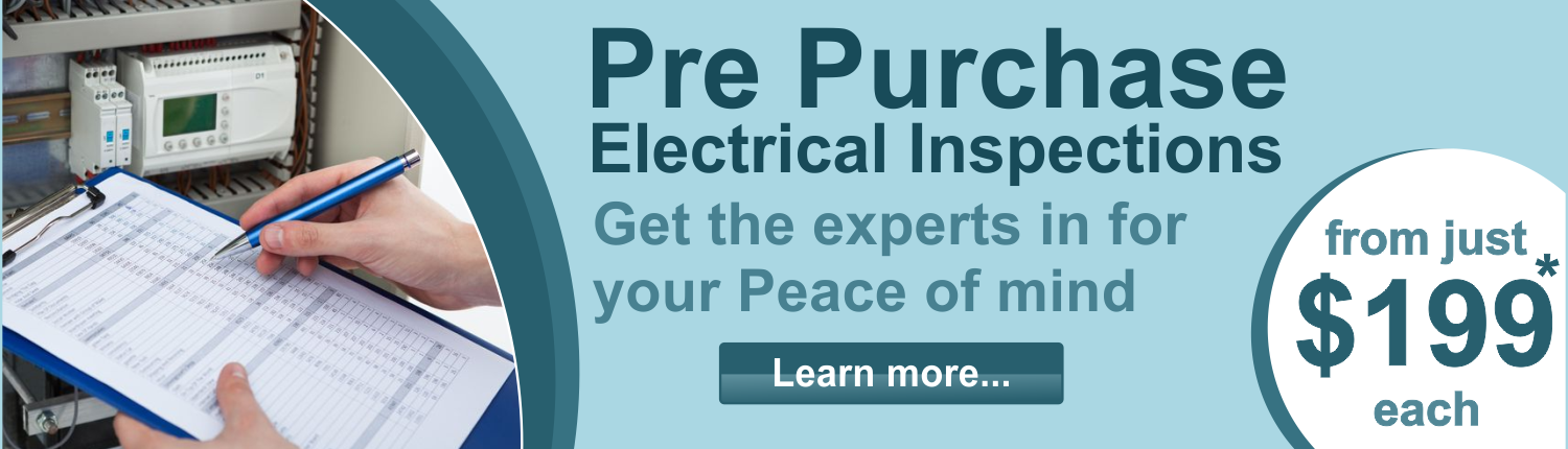 Pre Purchase_Electrical Inspections Brisbane
